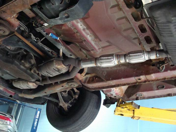 2002 honda accord exhaust flex pipe