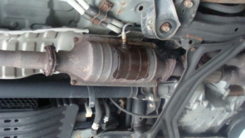 Magnaflow Catalytic Converter >> Before After
