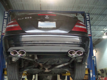 Auto Collision Experts >> 2001 S430 - Catalytic Converter Replacement